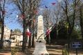 Le Monument aux Morts lors de la Fête Locale 2017
