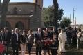 La cérémonie au Monument aux Morts lors de la Fête Locale 2017