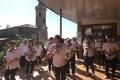 Les Caramagnols animent le buffet républicain lors de la Fête Locale 2017